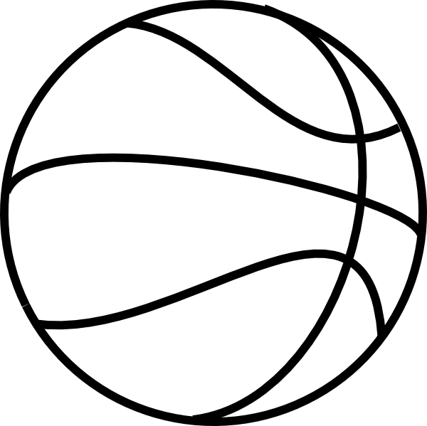 The word basketball in clipart image free download Basketball Lines Clipart - 2018 Clipart Gallery image free download