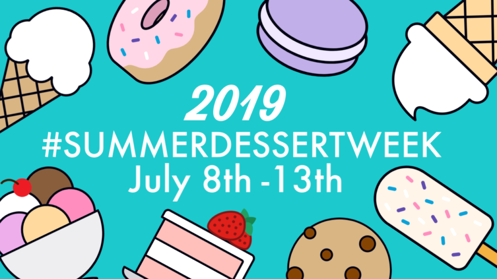 The words leave room for dessert clipart vector library library Peach and Nectarine Torte #SummerDessertWeek vector library library