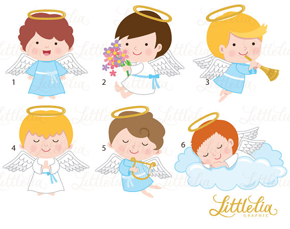 The words vida hermosa clipart svg Angels clipart - angel boys clipart - 17050 | Products ... svg