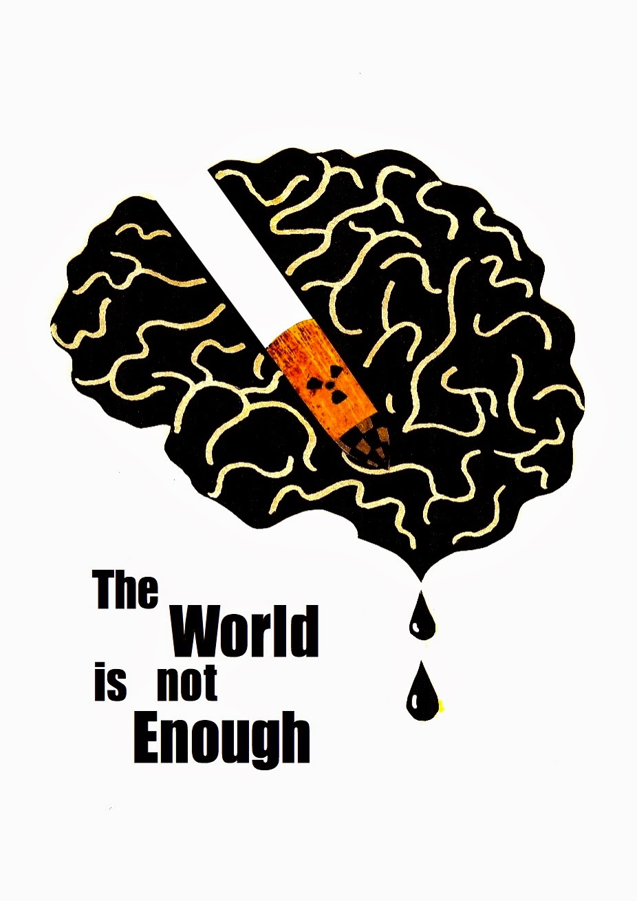 The world is not enough clipart vector free stock TOO CLOSE FOR COMFORT: Bond Poster Project: \'The World Is ... vector free stock