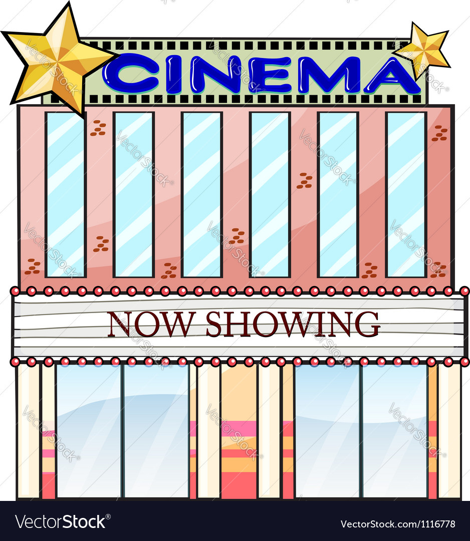 Theater building clipart banner royalty free Movie Theater Building Clipart | Free download best Movie ... banner royalty free