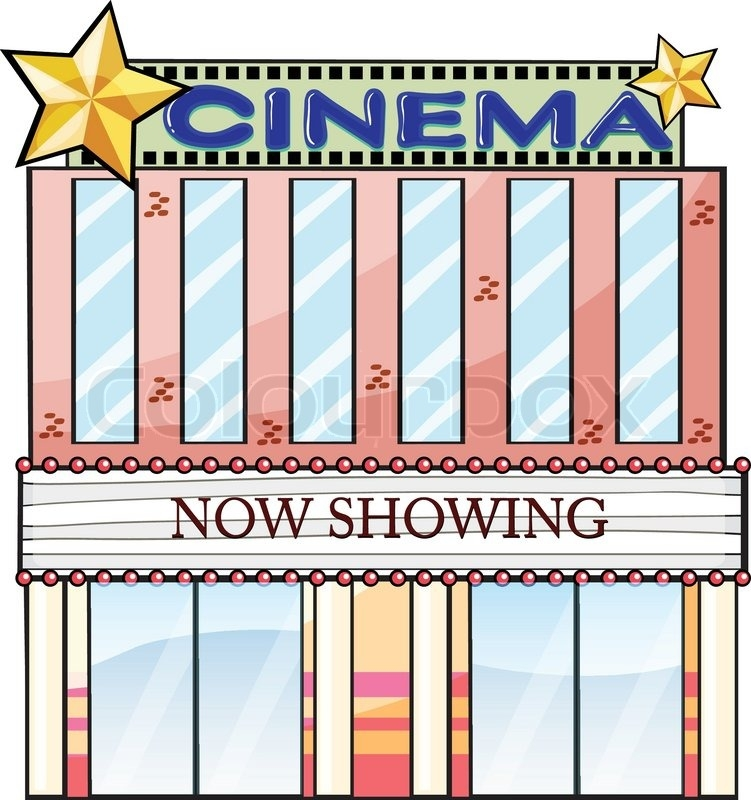 Theatre building clipart picture free library Movie theater building clipart 8 » Clipart Station picture free library