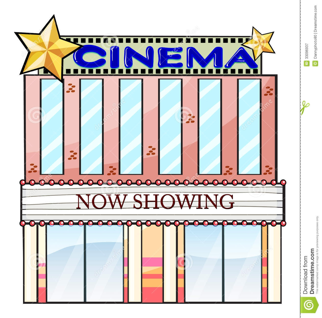 Theater building clipart image free library Movie Theater Building Clipart Clipart Panda Free Clipart ... image free library