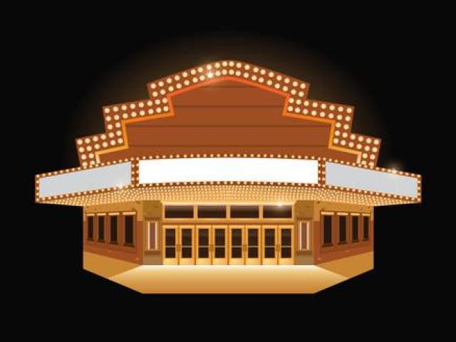 Theater building clipart svg library Theater Building Cliparts 24 - 840 X 702 - Making-The-Web.com svg library