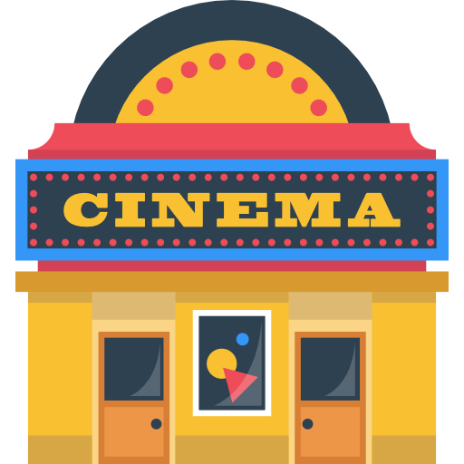 Cinema clipart clipart freeuse stock Clip Art Free Stock Movie Theater Building Clipart ... clipart freeuse stock