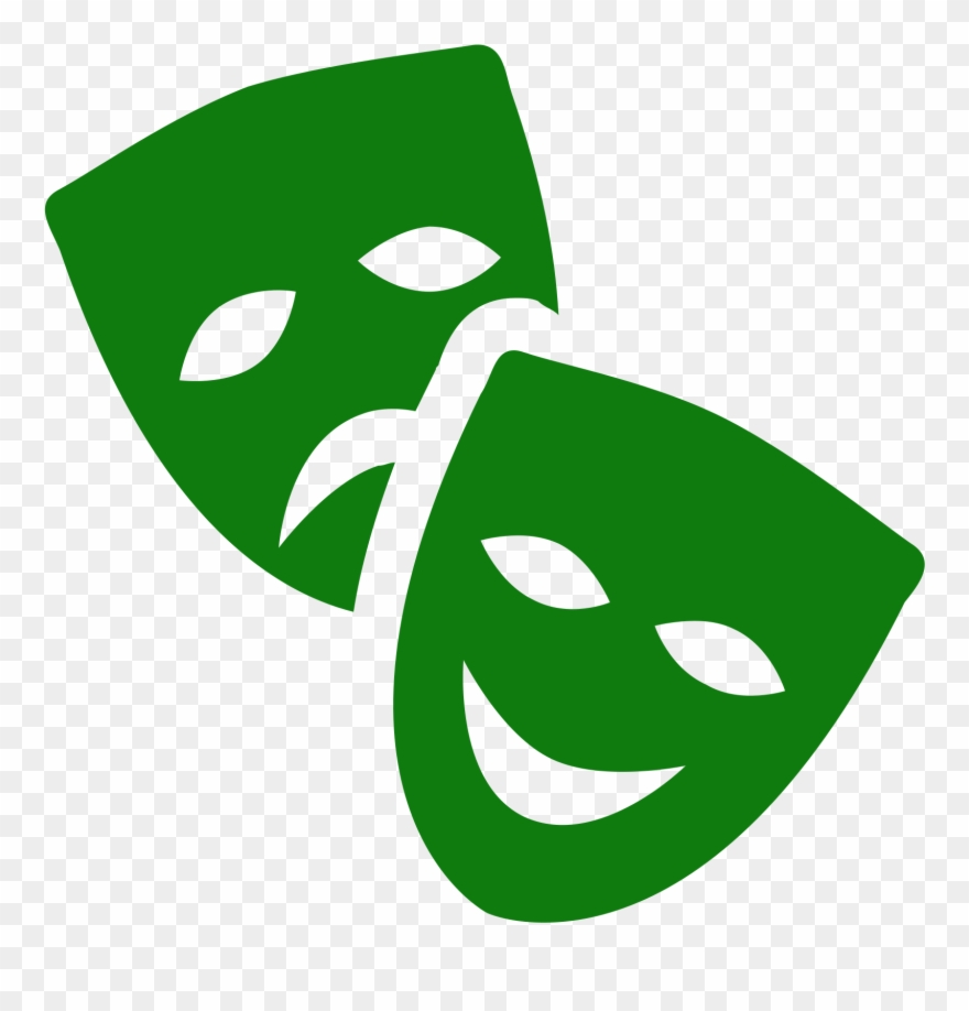 Theater mask clipart banner free Theatre Mask Icon - Theater Png Clipart (#1955081) - PinClipart banner free