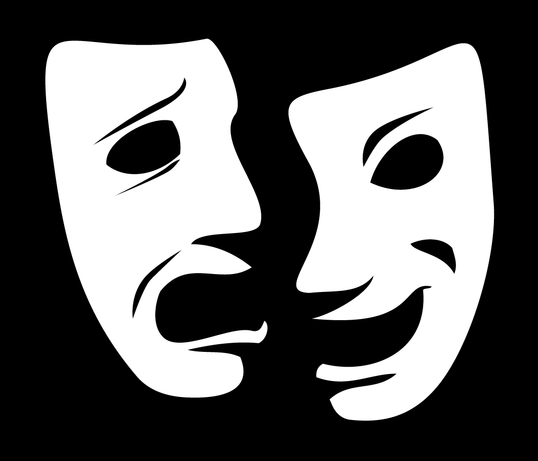 Theater mask clipart banner freeuse download Free Theater Masks, Download Free Clip Art, Free Clip Art on ... banner freeuse download