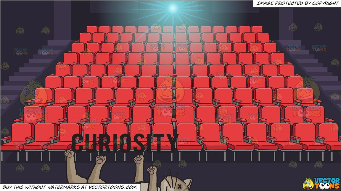 Theater seats clipart