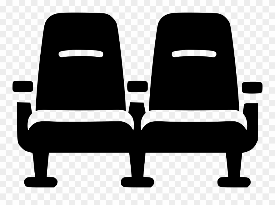 Library of theater seats clipart royalty free stock png ...