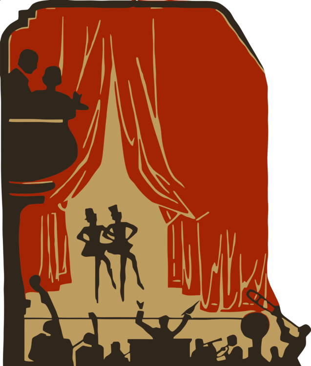 Theater show clipart clip freeuse library Art,Fictional Character,Red Clipart - Royalty Free SVG ... clip freeuse library