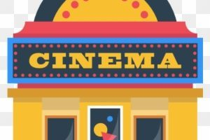 Theatre building clipart svg black and white Movie theatre building clipart » Clipart Portal svg black and white