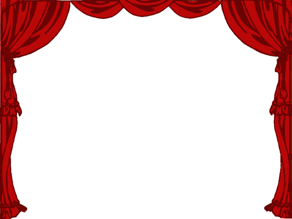 Stage clipart black and white jpg download Stage Curtain Clipart Black And White <b>theatre</b> borders ... jpg download
