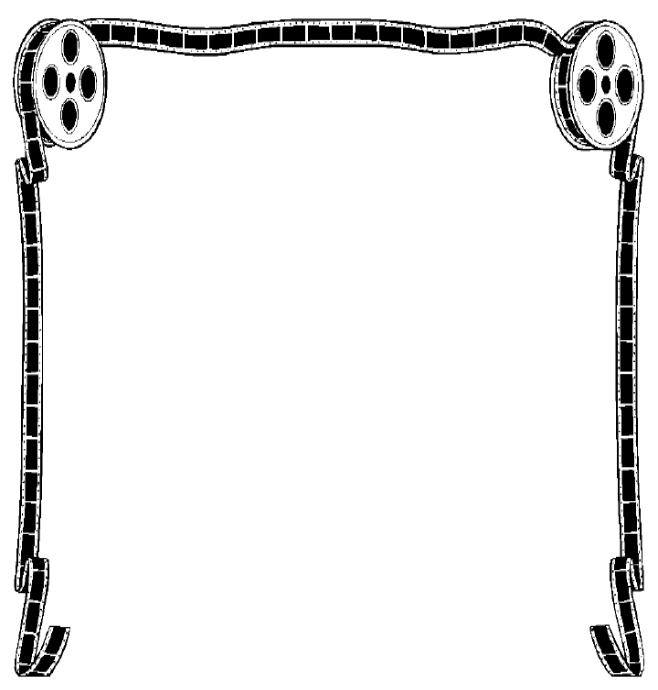 Theatre document frame clipart png royalty free download Free Movies Borders Cliparts, Download Free Clip Art, Free ... png royalty free download