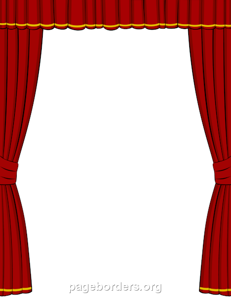 Theatre document frame clipart jpg transparent library Pin by Muse Printables on Page Borders and Border Clip Art ... jpg transparent library