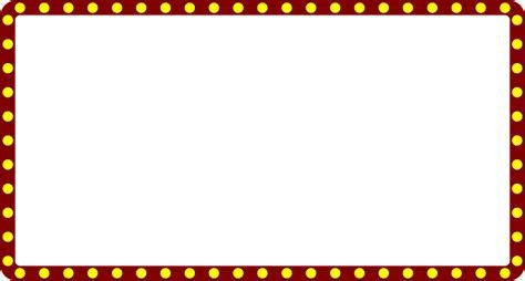 Theatre lights border clipart clipart transparent download Theatre Border - Lantern clipart transparent download