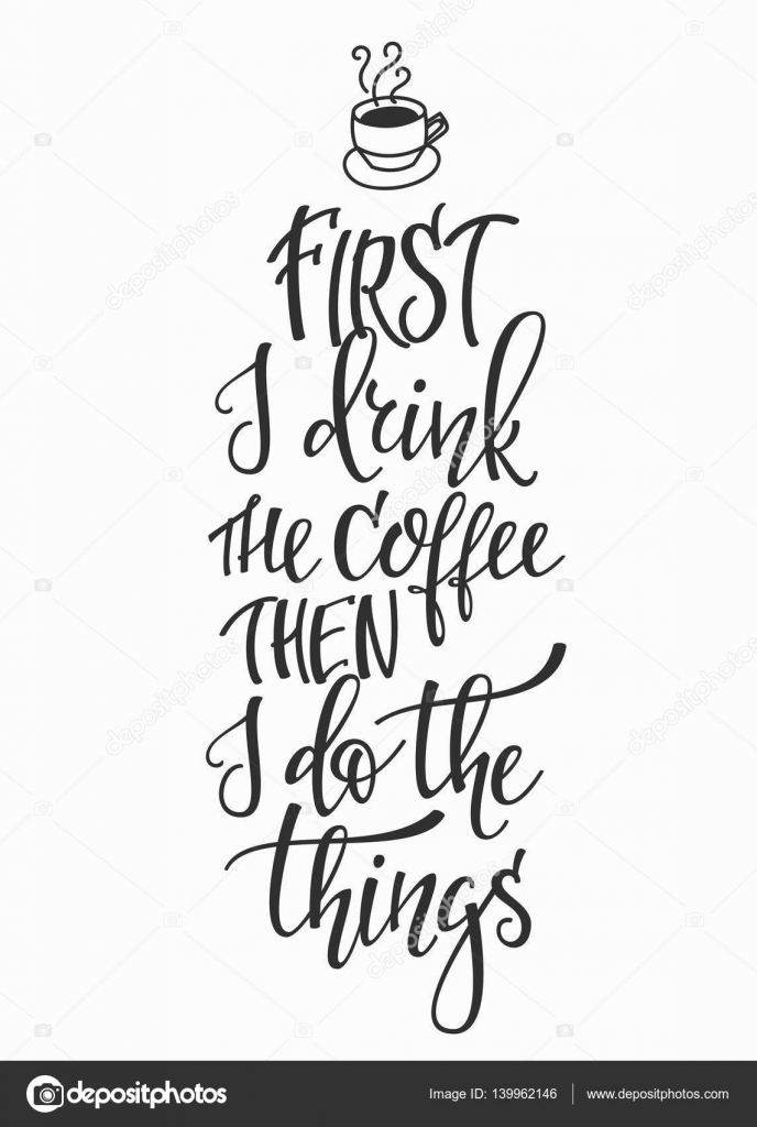 Then clipart black and white stock Coffee, Cafe, Drink, Illustration, Text, Font, Art, Line ... black and white stock