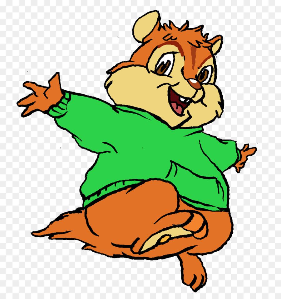 Theodore seville clipart clip art freeuse stock Chipmunk Cartoon clipart - Line, Wildlife, Graphics ... clip art freeuse stock