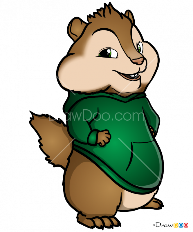 Theodore seville clipart picture download How to Draw Theodore Seville, Alvin and Chipmunks picture download
