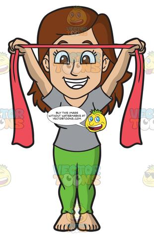 Theraband clipart