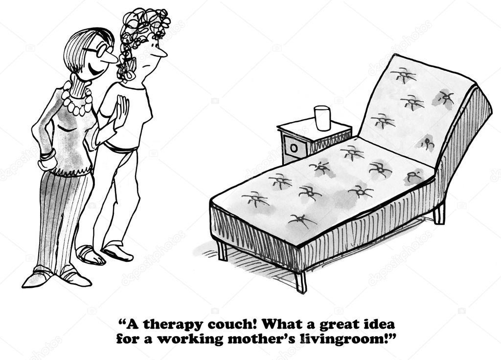 Therapy couch clipart png black and white download Therapist couch clipart 9 » Clipart Portal png black and white download