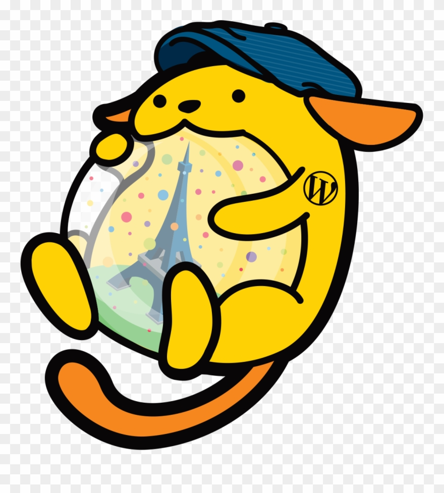There is clipart graphic royalty free library Titi, The Wordcamp Paris Wapuu Will Be There Clipart ... graphic royalty free library