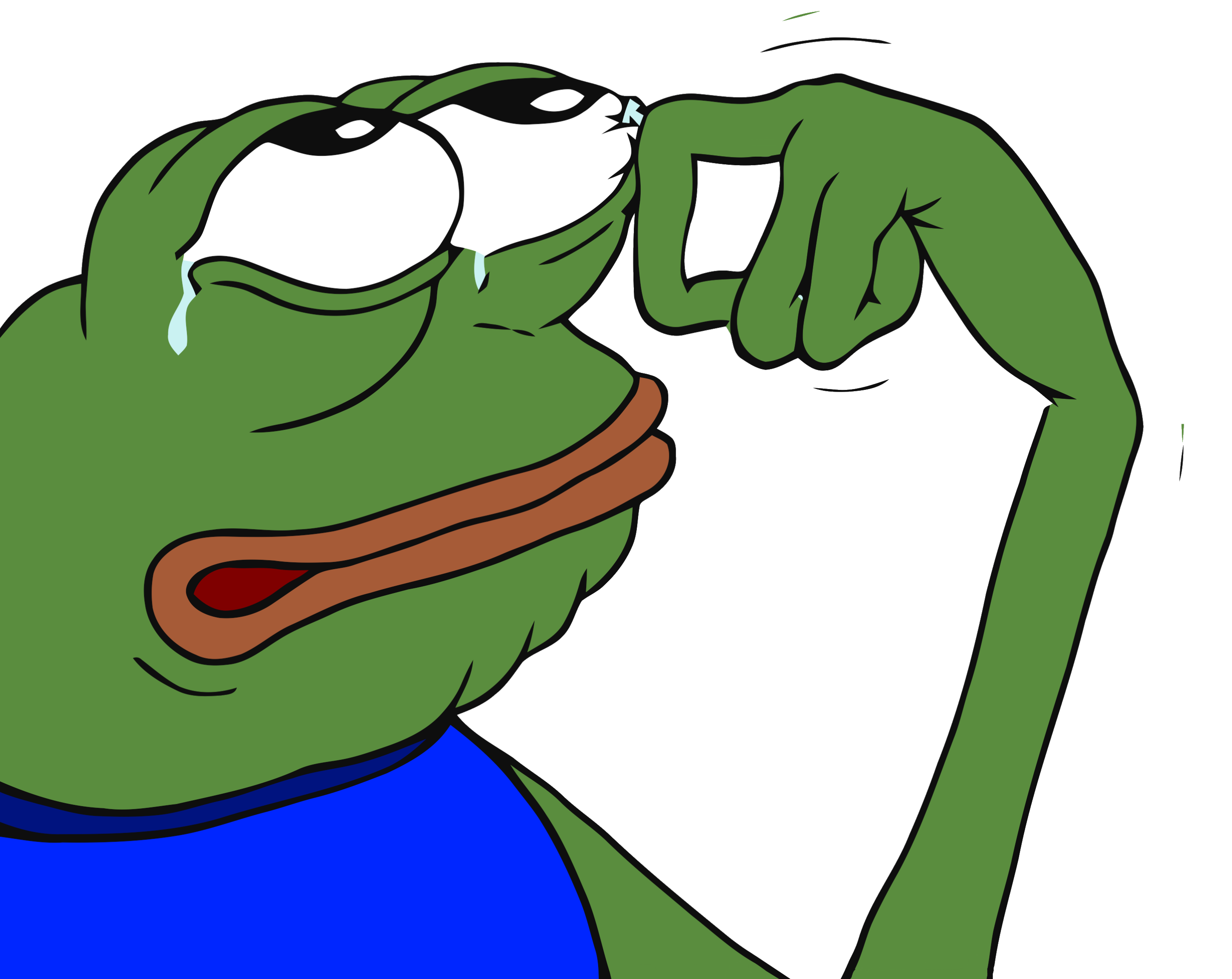 There is no crying in baseball clipart banner library Pepe Was Crying Tears of Joy at last nights debate. : The_Donald banner library