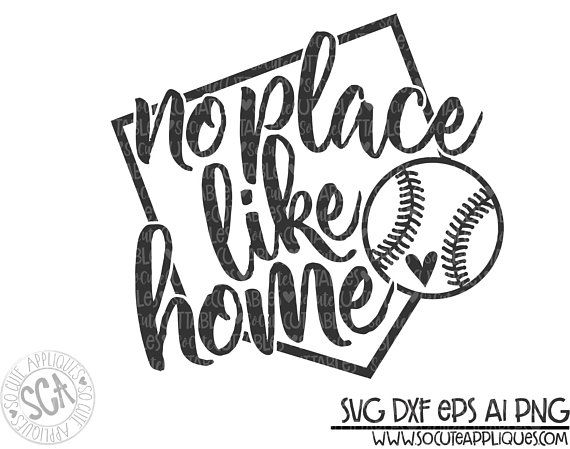 There is no place like home baseball clipart png free stock Baseball svg, baseball mom, No place like home, baseball svg ... png free stock