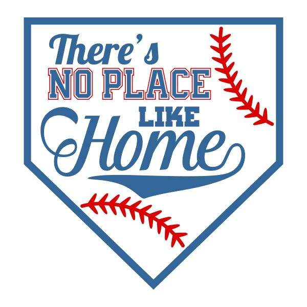 There is no place like home baseball clipart svg royalty free Baseball Home Plate Clipart (98+ images in Collection) Page 2 svg royalty free