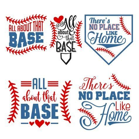 There is no place like home baseball clipart jpg black and white Image result for Free Baseball SVG Files for Cricut | Cricut ... jpg black and white