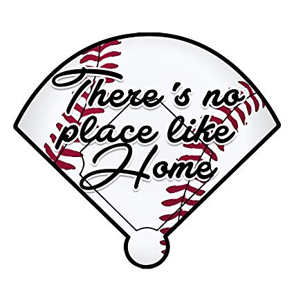 There is no place like home baseball clipart svg library stock Amazon.com: Baseball There\'s No Place Like Home Color Vinyl ... svg library stock