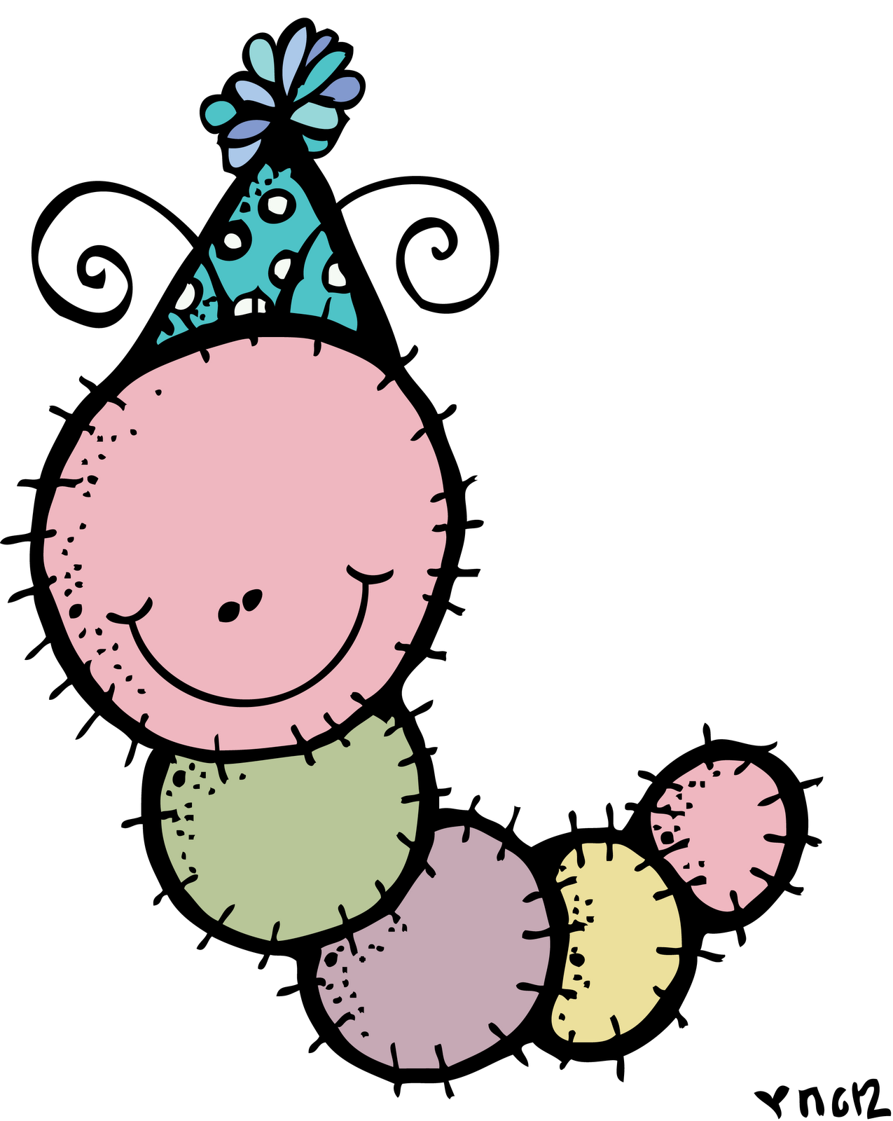 There was an old lady who swallowed a turkey clipart banner MelonHeadz: Happy