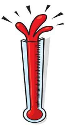 Thermometer bursting clipart clip art free stock Thermometer Bursting Clipart clip art free stock