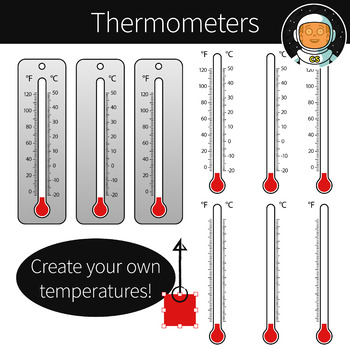 Thermometer clipart for teachers image free library Thermometers Clipart image free library