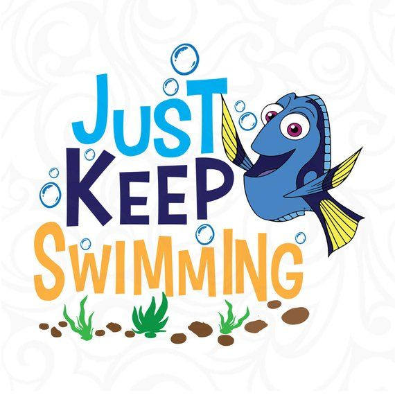 They just keep coming clipart image free library Just keep swimming svg,finding Nemo svg,finding dory svg,cut ... image free library