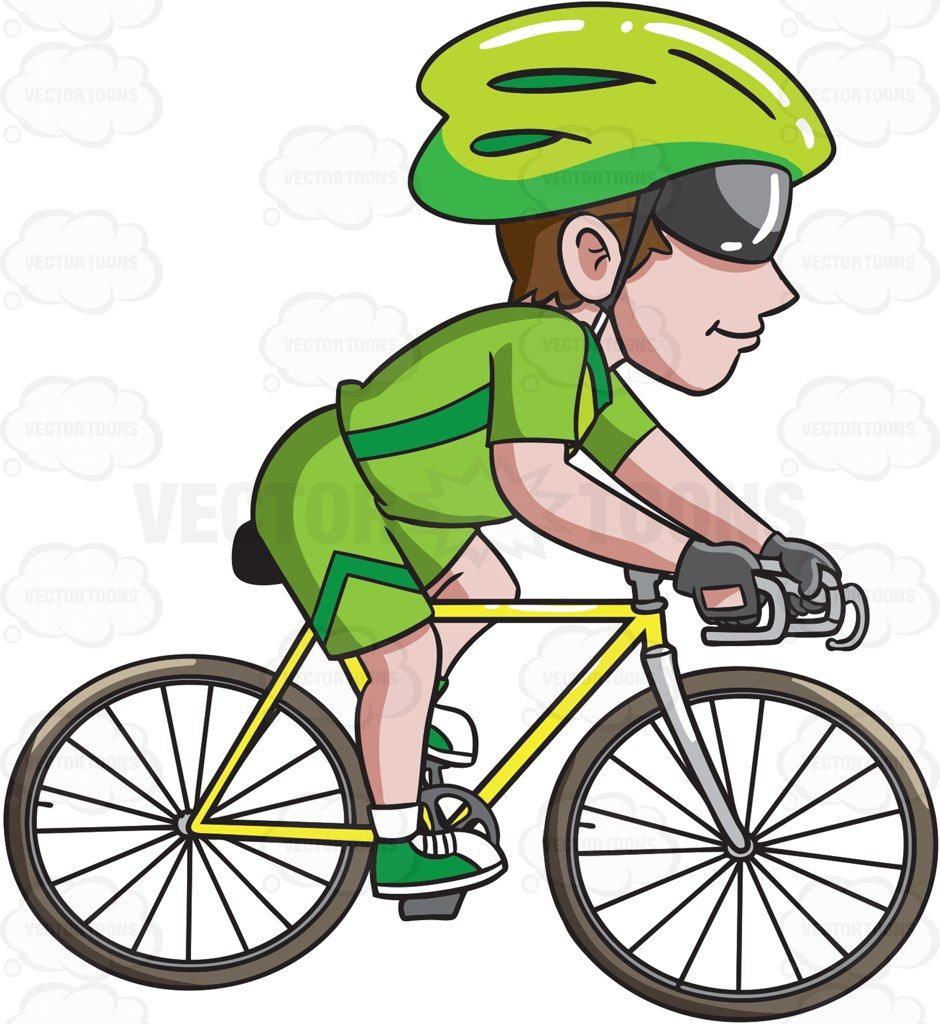 They rode bikes together clipart vector free stock A man riding a road bike #cartoon #clipart #vector ... vector free stock