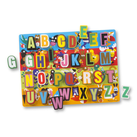 Thick letter w clipart svg free download Jumbo ABC Chunky Puzzle svg free download