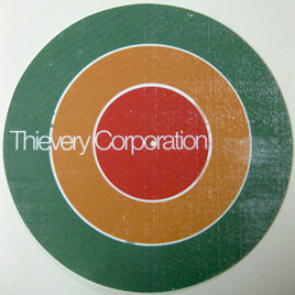 Thievery clipart banner black and white download Groove Distribution :: :: Other :: Thievery Corp/BULLSEYE ... banner black and white download