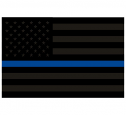 Thin blue line clipart svg stock Thin blue line flag clipart - ClipartFest svg stock