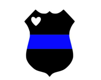 Thin blue line clipart banner black and white stock Thin blue line clipart - ClipartFest banner black and white stock
