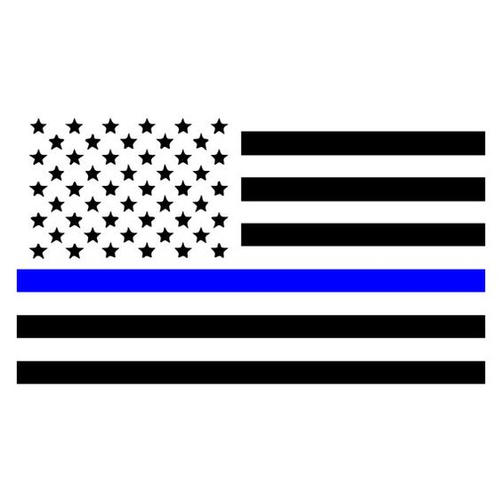 Thin blue line clipart image transparent library Thin blue line flag clipart - ClipartFest image transparent library