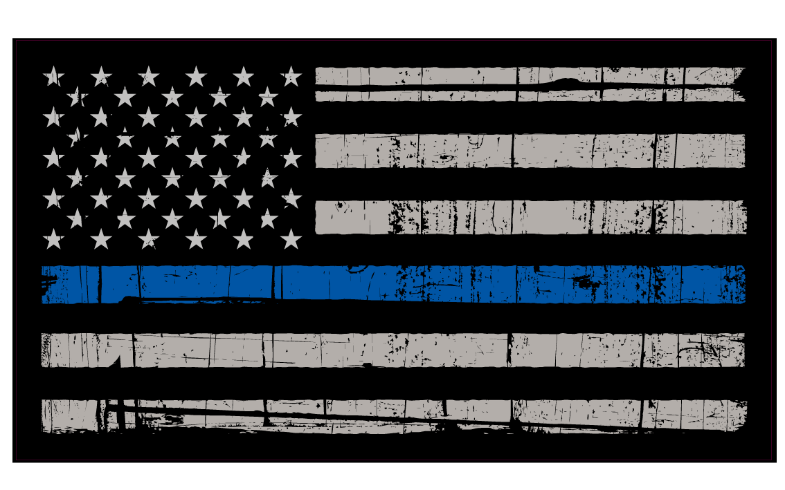 Thin blue line cross clipart graphic black and white I'm a Proud Daughter of a Police Officer | Back the Blue | Pinterest graphic black and white