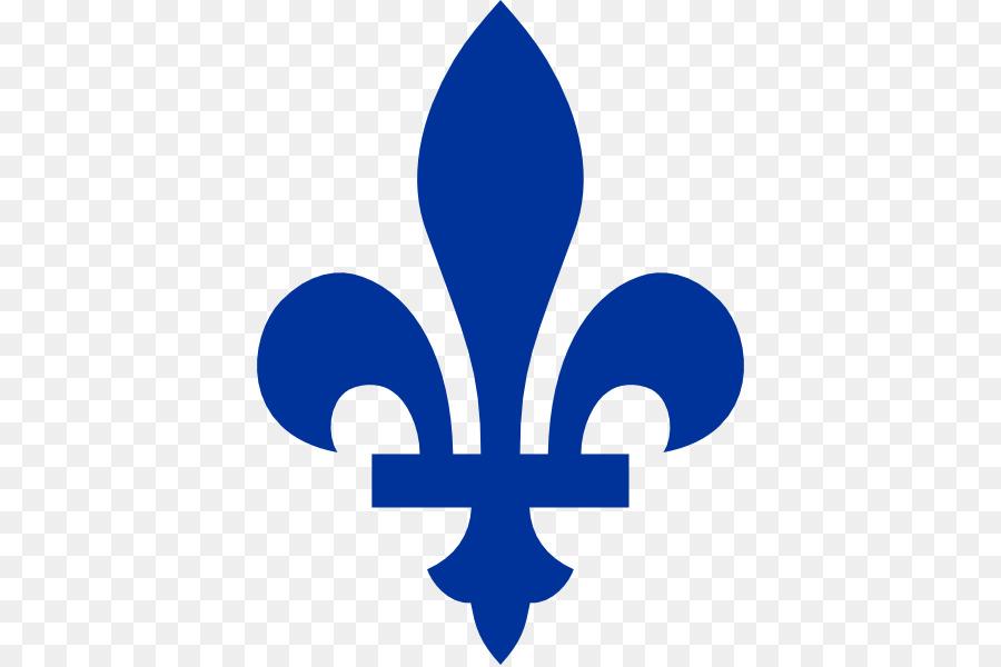 Thin blue line fleur de lis clipart svg royalty free download Blue Flower png download - 438*598 - Free Transparent Quebec ... svg royalty free download