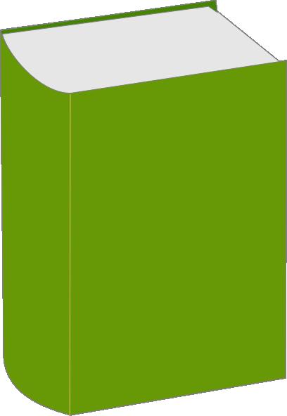 Thin book clipart svg transparent library Green Book Clip Art at Clker.com - vector clip art online, royalty ... svg transparent library