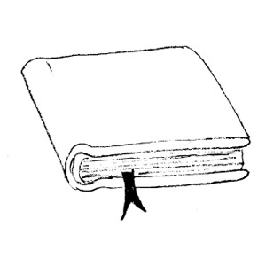 Thin book clipart black and white library Thick and thin clipart - ClipartFest black and white library