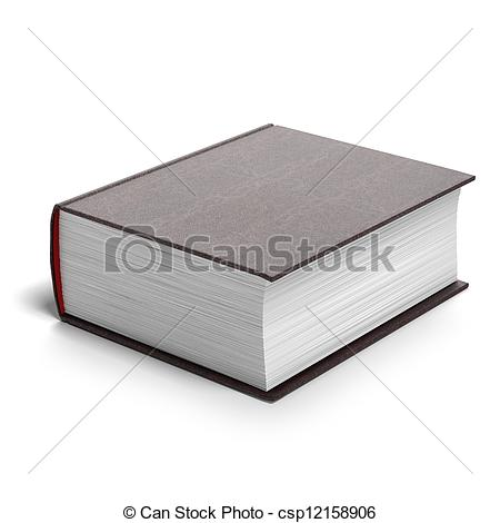 Thin book clipart clipart library download Clipart thick book - ClipartFest clipart library download