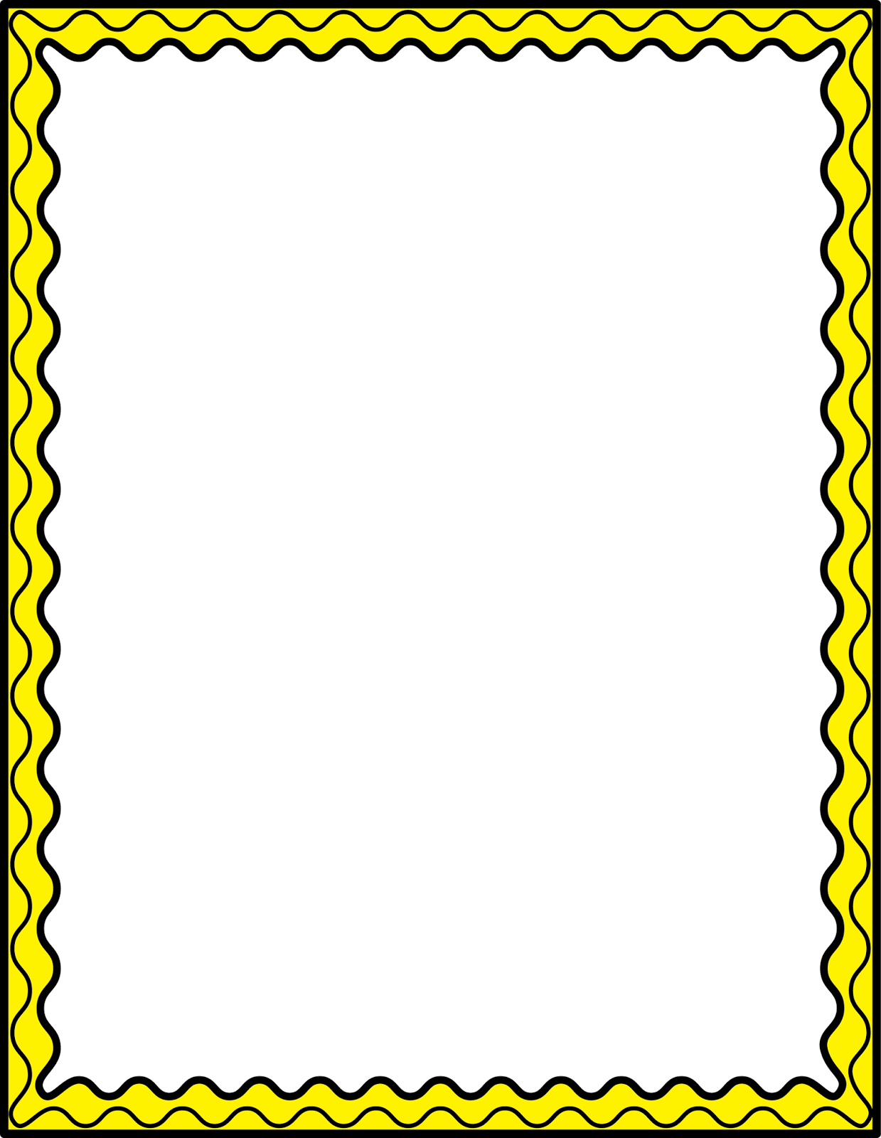 Thin border clipart vector freeuse download Image result for thin page borders | Page borders | Page ... vector freeuse download