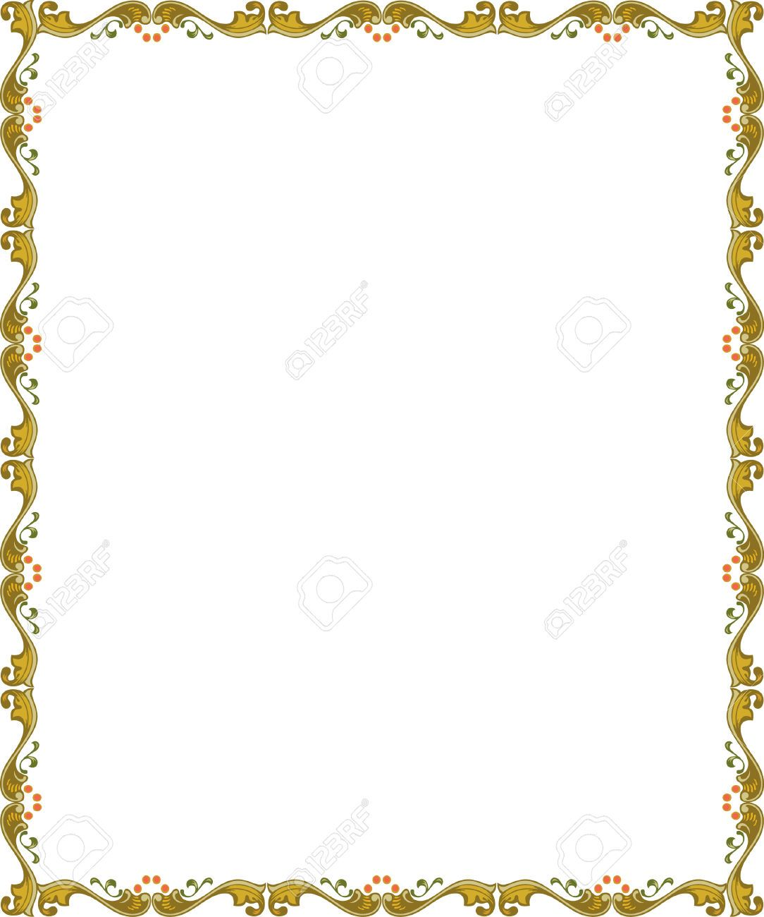 Image result for thin certificate borders … | word邊框 | Page … jpg transparent download