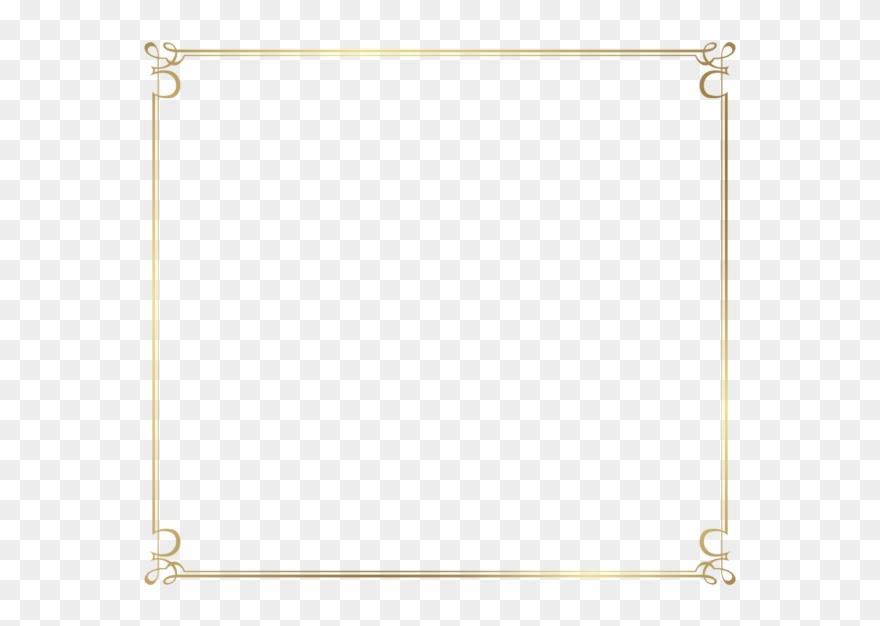 Thin border clipart svg transparent Decorative Border Transparent Background Png - Red Thin ... svg transparent