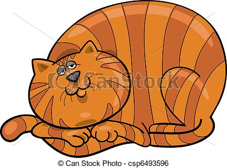 Thin cat clipart png library stock Fat and thin cat clipart - ClipartFest png library stock