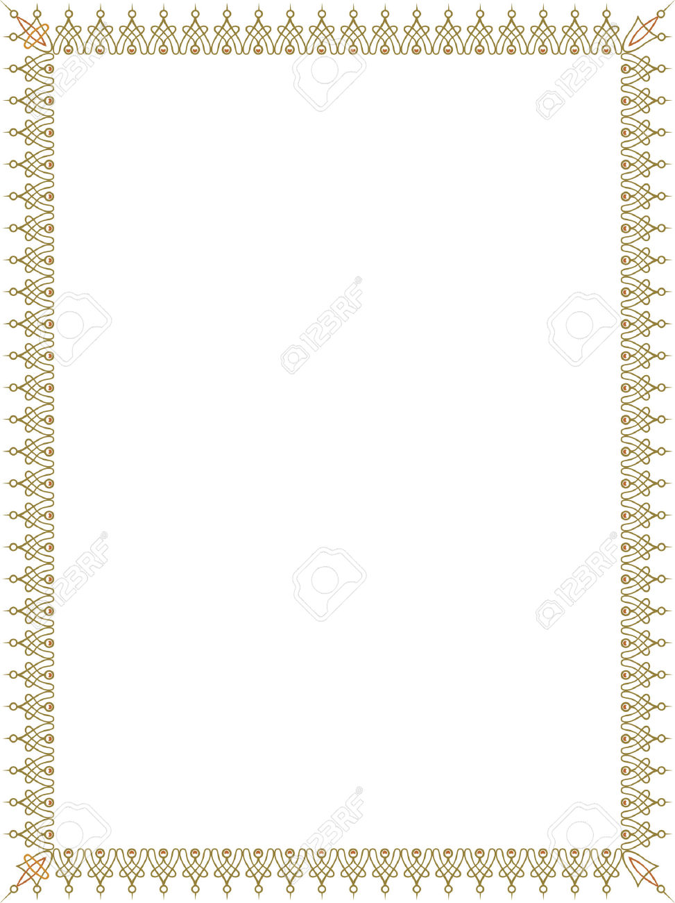 Thin frame clipart banner black and white Simple Style Thin Frame, Colored Royalty Free Cliparts, Vectors ... banner black and white